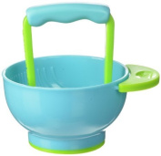 Mash and Serve Bowl with easy grip handle by NUK