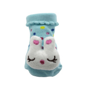 3D Cartoon Style Baby Socks Slippers Shoes Bootie for Baby Kid Toddler Newborn Gift()
