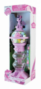Sweet N Fun MLP 23cm Spiral Fun Gumball Bank with 60 g Pearl Gumballs