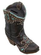 Western Cowboy Boot Piggy Bank