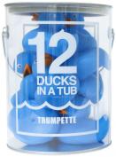 Trumpette 12 Ducks in a Tub, Blue