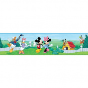 Roommates Mickey & Friends Peel & Stick Border- Dimensions