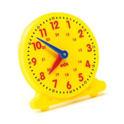 EARLY YEARS Pupil Clock - Tell the Time - 12 HOUR & 24 HOUR Clock - 10cm