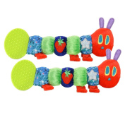 Eric Carle The Very Hungry Caterpillar Teether Rattle, Twin Pack