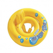 My Baby Float Inflatable Swim Float Child Safety Seat Aid Trainer Raft Water Fun Toy Pool Ring Yellow
