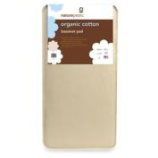 Naturepedic' Organic Cotton Bassinet Mattress Pad