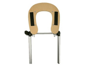 Beige Standard Adjustable Wooden Massage Table Chair Coloured Face Rest Cradle Brace