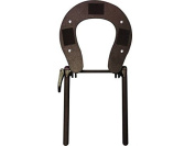 Black Standard Adjustable Wooden Massage Table Chair Coloured Face Rest Cradle Brace