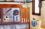 New Circo 10 Pieces Baby Boy Sport Crib Bedding Set