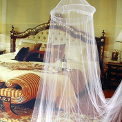 GigaMax(TM) Elegant Netting Bed Canopy Mosquito Net White