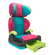 Safety 1st BC069CJQ Fruit Punch Store 'n Go Forward Facing Belt-Positioning Booster Car Seat
