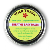 Breathe Easy Balm (30ml) 100% Natural Relief from symptoms of Chest/Sinus Congestion, Allergies & Colds