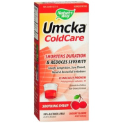 Nature's Way Umcka ColdCare Syrup, Cherry Flavoured, Cherry 120ml