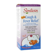Similasan Kids Cough & Fever Relief Syrup 120ml