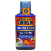 Delsym Children's Liquid Cough & Cold Night Time, Berry 180ml