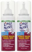 Little Remedies Little Noses Saline Mist - 2 pk