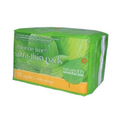 Seventh Generation Chlorine Free Ultra-Thin Pads Regular with Wings - 18 Pads - Case of 12