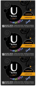 U by Kotex Click Super+ Absorbency Tampons-18 ct, 3 pk