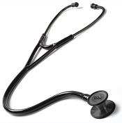 Prestige Medical Clinical Cardiology Stethescope, Stealth All Black