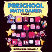 Preschool Math Games: Volume 1