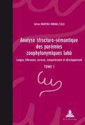 Analyse Structuro-Semantique Des Paremies Zoophytonymiques Luba [FRE]