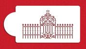 Victorian Gate and Fence Cake Stencils by Designer Stencils
