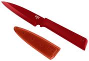 Kuhn Rikon Colori+ Paring Knife, 10cm , Red