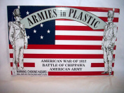 War of 1812 American Army 1/32 scale by Armies in Plasitc, Offered by Classic Toy Soldiers, Inc