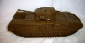 WWII British Churchill Tank in 1:38 scale Offered by Classic Toy Soldiers, Inc