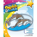 Makit & Bakit Suncatcher Kit-Dolphins