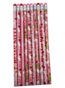 Pink Hello Kitty Unsharppened Pencil Pack