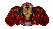 Patch - Marvel - Iron Man Flying New Iron-On Gifts Toys p-mvl-0016