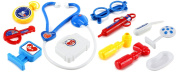 Happy Home Doctor Pretend Play Toy Medical Doctor Kit Play Set, Perfect for Role Playing
