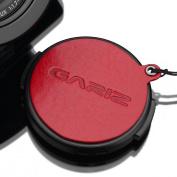Gariz Genuine Leather XA-CFDLR Camera Capfix Cap Fixs for Leica DLUX / Panasonic Lumix LX100, Red