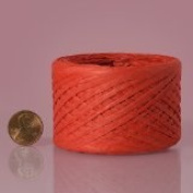 RED Paper Raffia Ribbon 0.6cm x 100 yards
