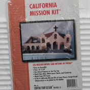 California Mission Model Kit San Antonio De Padua