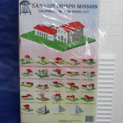 California Mission Model Kit San Luis Obispo Mission