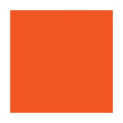 Craft E Vinyl - Glossy Orange 30cm x 12m Roll of Permanent Adhesive Backed Vinyl for Cricut Cutters, CraftROBO Cutters, Pazzles Cutters, QuicKutz Cutters - CEV1616