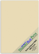 225 Sheets Earthy Driftwood Tan Fibre 36kg Cover Weight 13cm X 18cm Cardstock Paper Card|Photo|Frame Size