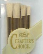 RCC209 Craft/Art Brush Set 4pc Stencil Nylon [Misc.]