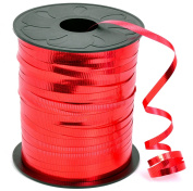 HIART Curling Ribbon, 0.5cm x 500-Yard, Metallic Red