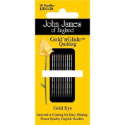 John James Gold'n Glide Quilting Needles- Size 9