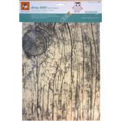 BARC Wood Sheet W/Adhesive Backing 22cm x 28cm -Rustic White Birch