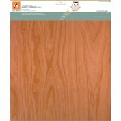 BARC Wood Sheet W/Paper Backing 30cm x 30cm -Cherry