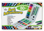 Royal Brush Manufacturing Company Art Adventure 80-Piece Art Activity Set IV
