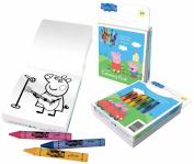 Primary Colours Peppa Pig Colouring Pack