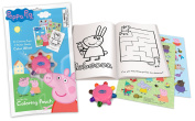Primary Colours Peppa Pig OTG Colouring Pouch with Wheel