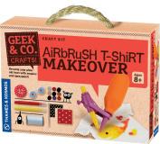 Geek & Co. Craft Airbrush T-Shirt Makeover