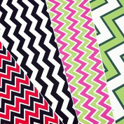 GRAB BAG of CHEVRON PATTERN Craft Vinyl! 6 12x12 Pieces Perfect for Vinyl Cutters