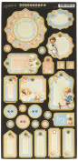 Graphic 45 Precious Memories Journaling Chipboard Paper